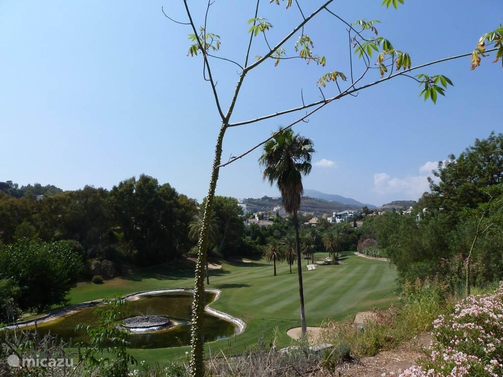 Golfcourse La Quinta met het prachtige Clubhuis