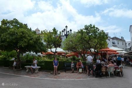 Casco Antiguo van Marbella-stad, het authentieke historisch centrum.