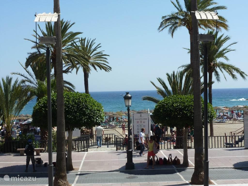 Boulevard Marbella en strand