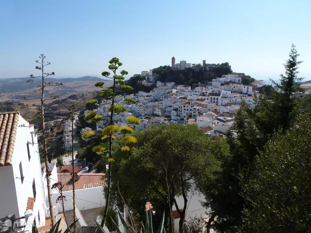 Het witte dorpje Casares