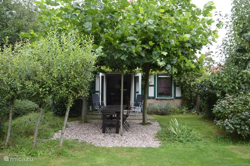 De tuin van De Boompjes.