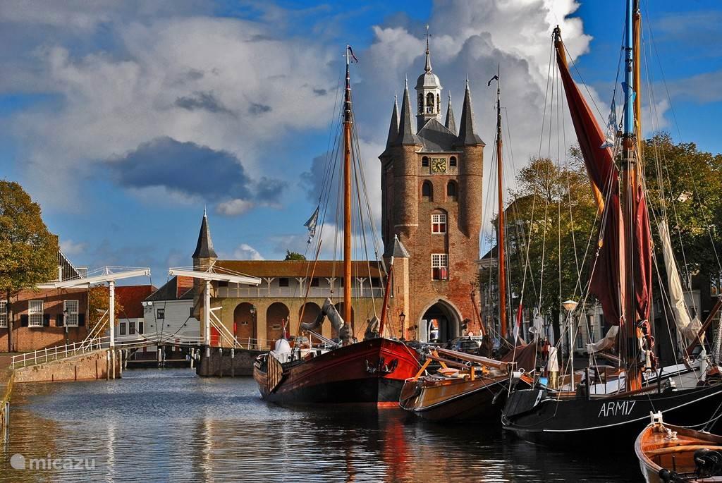 Historische stad Zierikzee.