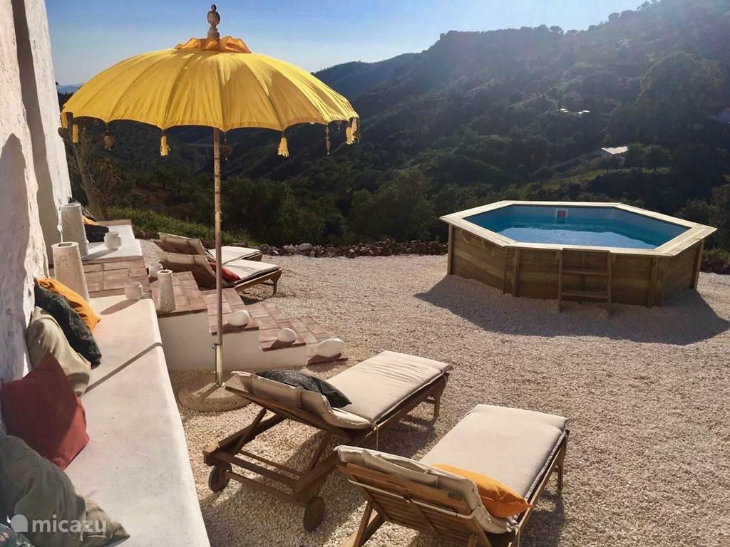 Kindvriendelijk Vakantiehuis Andalusië in de buurt van Malaga en het strand met privé zwembad!
