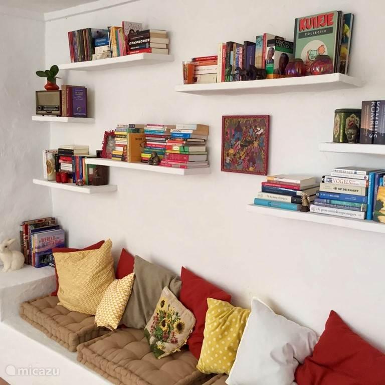 Heel veel leuke boeken en tijdschriften om te lezen!
