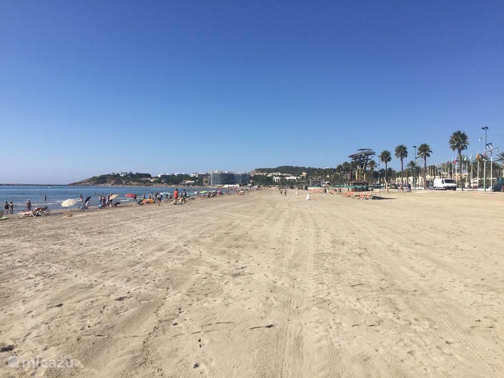 Het strand van La Pineda