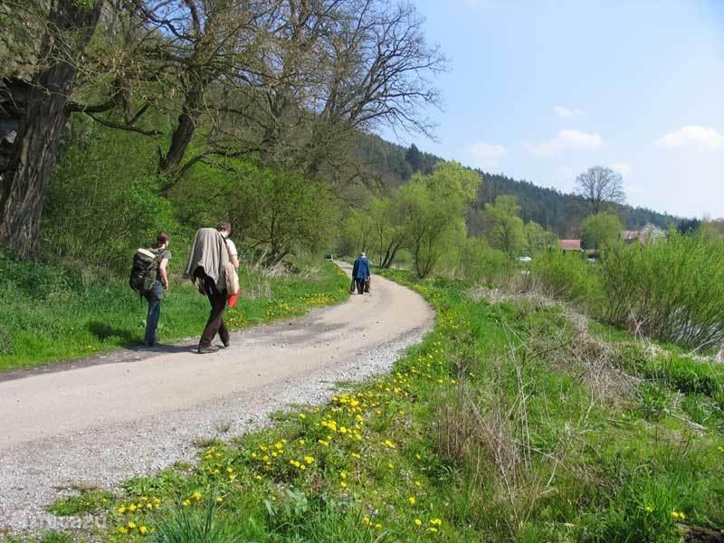 Wandel en fietspaden genoeg!