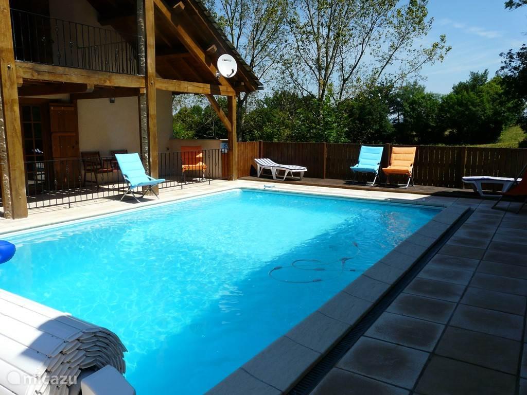 verwarmd zwembad 5m op 8m