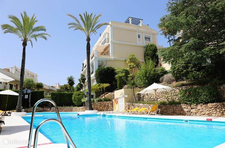Vakantiehuis Spanje, Costa del Sol, Marbella - appartement Appartement Aloha Gardens