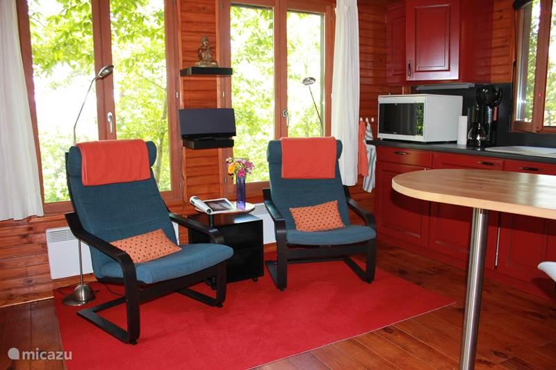 Vacation rental France, Allier, La Chabanne Chalet Chalet Laveneau ***