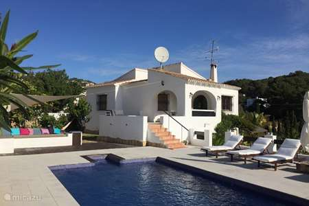 Vakantiehuis Spanje, Costa Blanca, Benissa villa Villa Rosella Benissa Costa