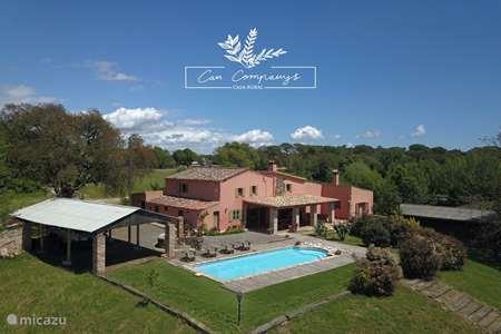 Vakantiehuis Spanje, Costa Brava, Macanet de la Selva boerderij Can Companys