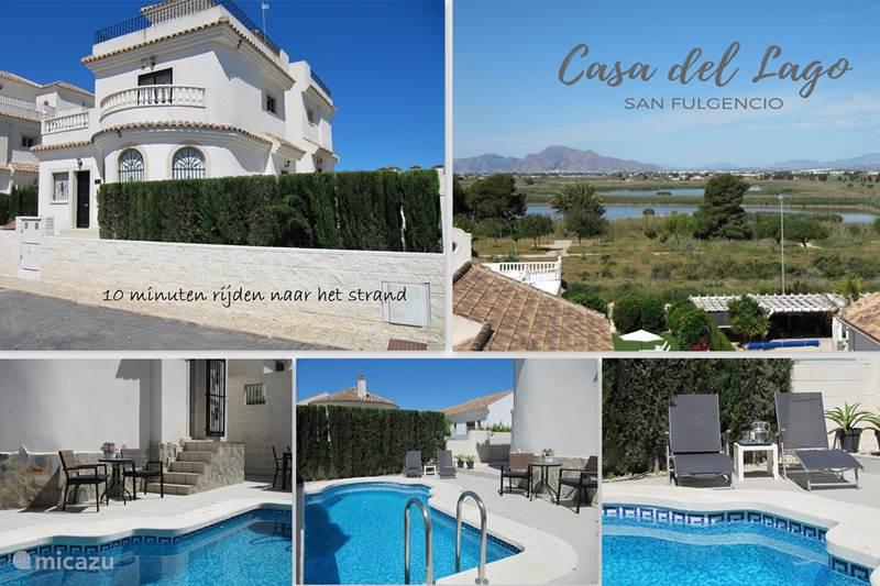 Vakantiehuis Spanje, Costa Blanca, San Fulgencio La Marina Villa 10 minuten rijden naar het strand