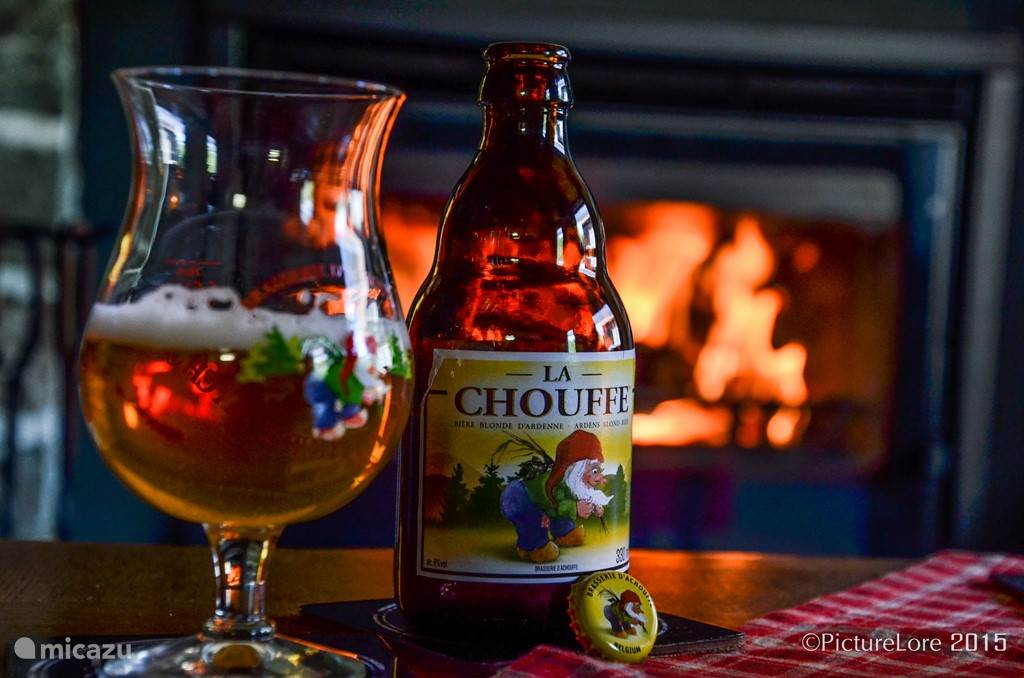 Lachouffe, local beer