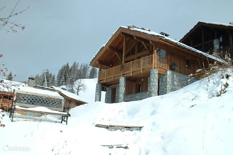 Vakantiehuis Frankrijk, Savoie, Sainte-Foy-Tarentaise Chalet Chalet in Sainte Foy 10km van Tignes