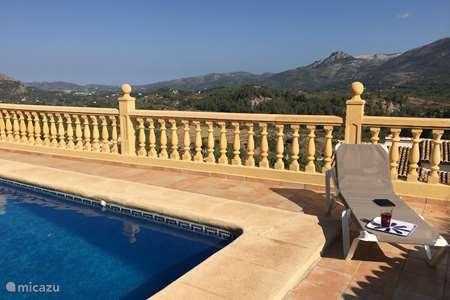 Vakantiehuis Spanje, Costa Blanca, Benigembla - villa Casa Bueno