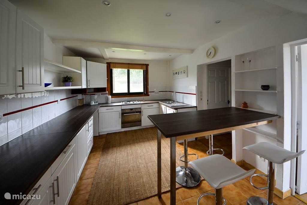 Keuken met eetbar