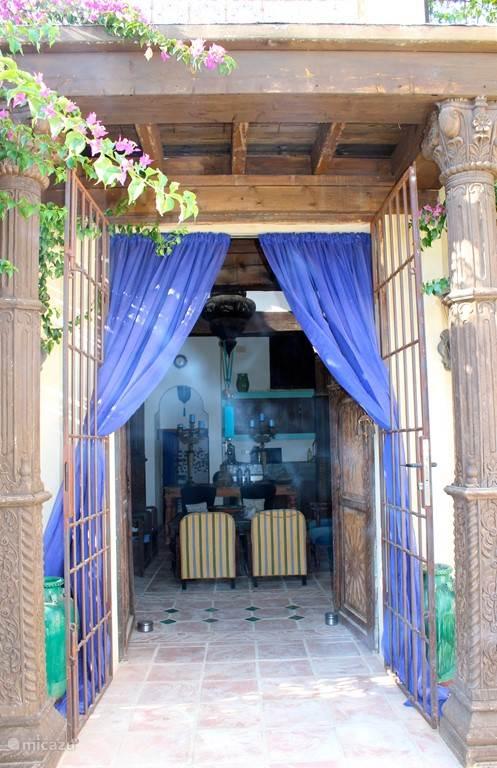 Vacation rental Spain, Costa Blanca, Villajoyosa (Benidorm) finca Casa Yuca