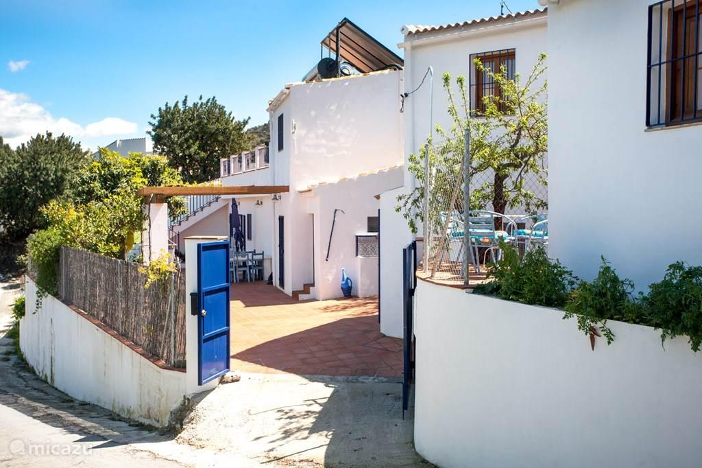 Vakantiehuis Spanje, Costa del Sol, Comares finca Finca los Dioses, een hemel op aarde