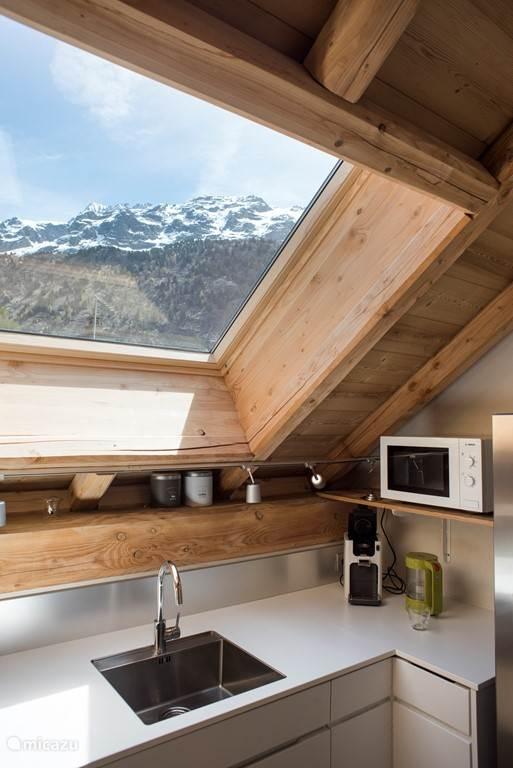 Uitzicht keuken