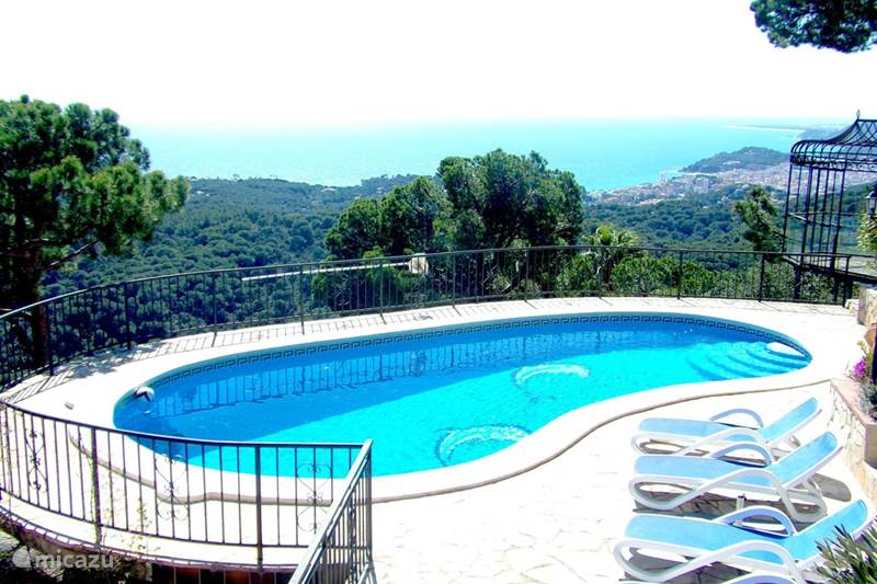 Vakantiehuis Spanje, Costa Brava, Lloret de Mar Villa Villa Shangri La