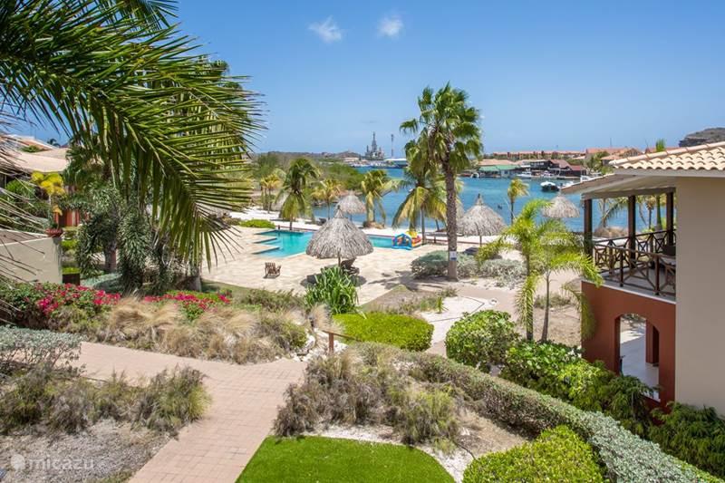 Ferienwohnung Curaçao, Banda Ariba (Ost), Caracasbaai Appartement Spanische Wasserwohnungen