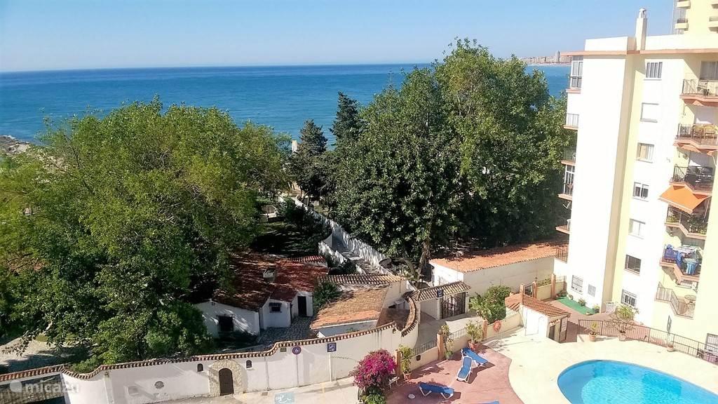 Vakantiehuis Spanje, Costa del Sol, Fuengirola - appartement Appartement aan zee met zwembad