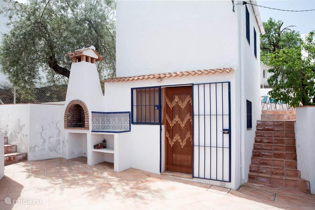 Vakantiehuis Spanje, Costa del Sol, Comares finca Studio Los Dioses: klein maar fijn!
