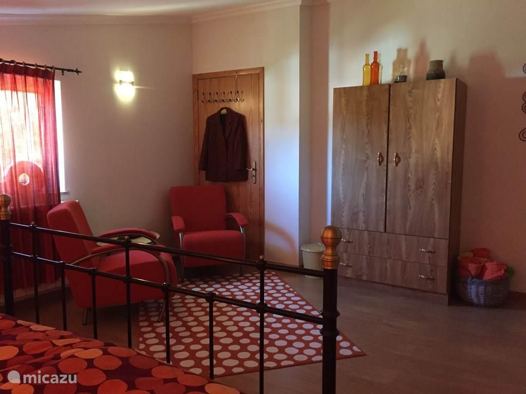 Vakantiehuis Portugal, Coimbra, Valbona-Arganil Bed & Breakfast B&B Casa Traca, Retro kamer