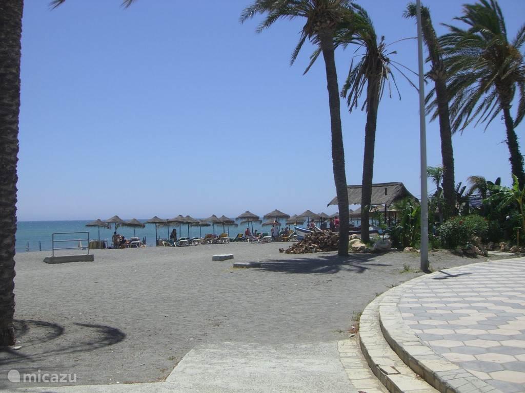 Strand dicht bij het huis!