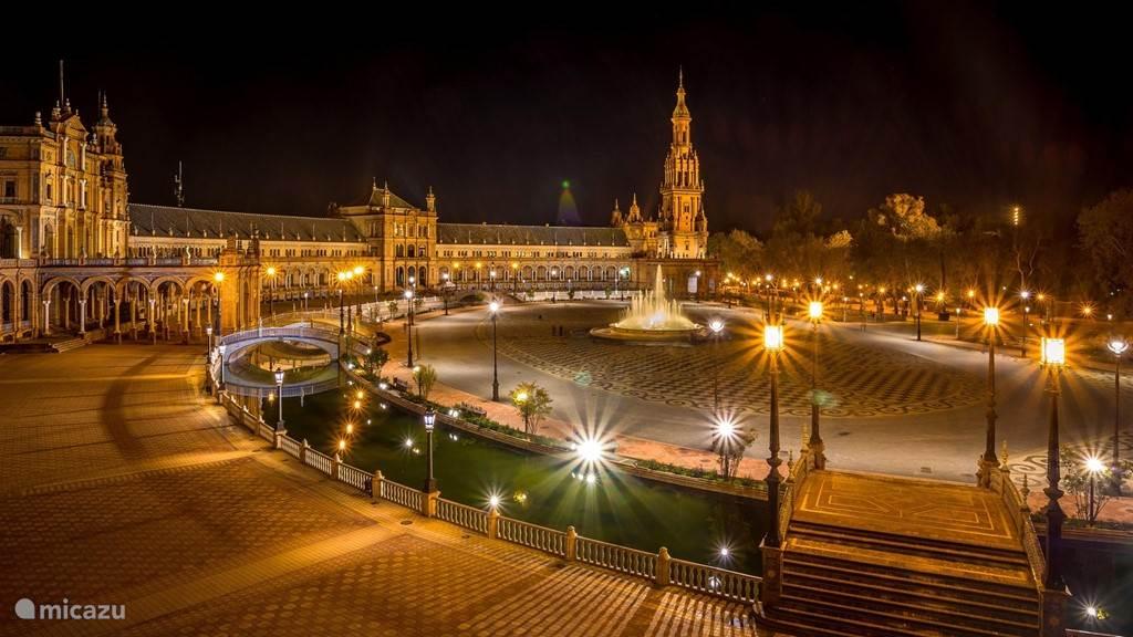 Bezoek Sevilla de hoofdstad van Andalusië.