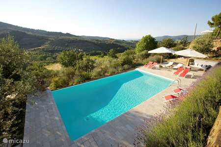 Vacation rental Italy, Tuscany, Panzano holiday house Casa Panzanellino