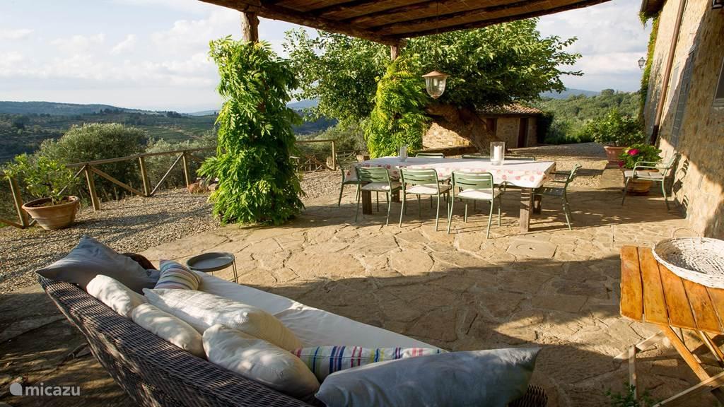 Vakantiehuis Italië, Toscane, Panzano Vakantiehuis Casa Panzanellino