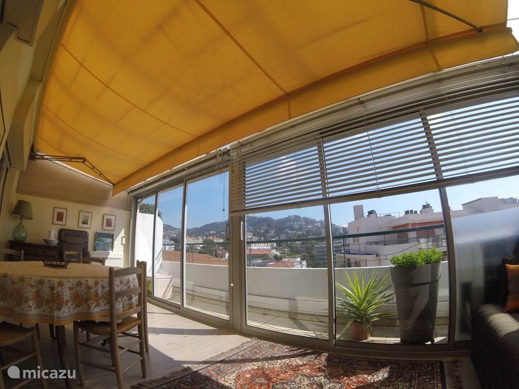 Vakantiehuis Frankrijk, Côte d´Azur, Cannes - appartement Hartje van Cannes, 60 m2, uitzicht