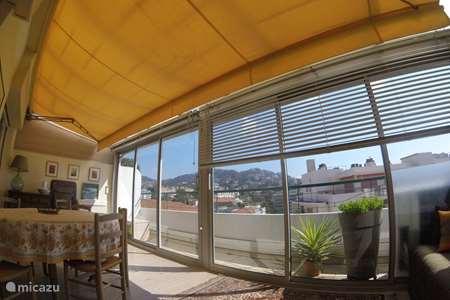 Vakantiehuis Frankrijk, Côte d´Azur, Golfe-Juan - appartement Hartje van Cannes, 60 m2, uitzicht
