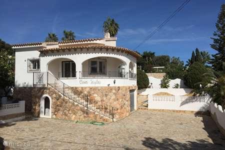 Vakantiehuis Spanje, Costa Blanca, Benissa villa Casa Jaydee