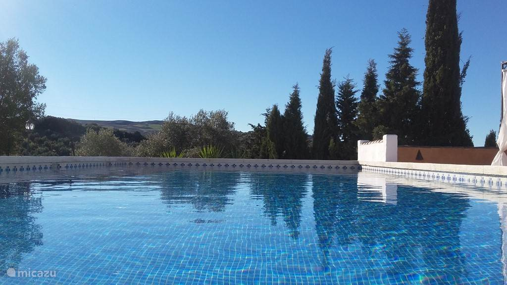 Vakantiehuis Spanje, Andalusië, Antequera Bed & Breakfast Rancho Sierra Azul, Blue Poolroom
