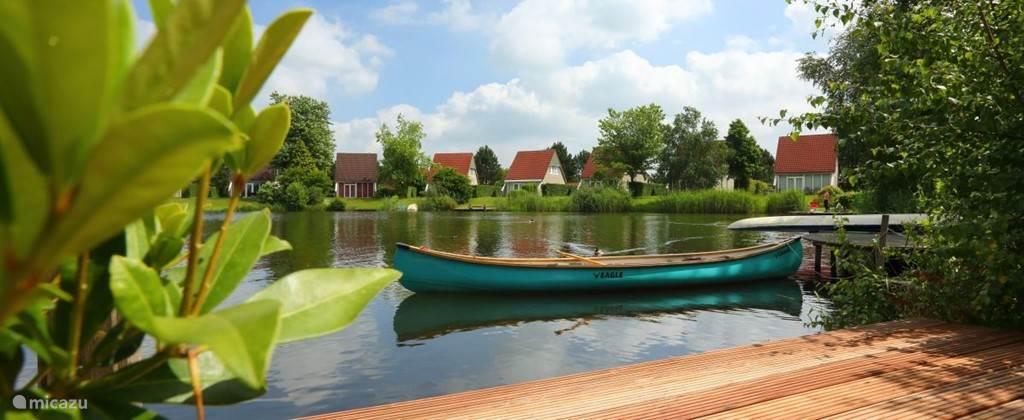 Sfeervolle vakantiewoning op een gezellig vakantiepark met een heerlijk binnenmeer.