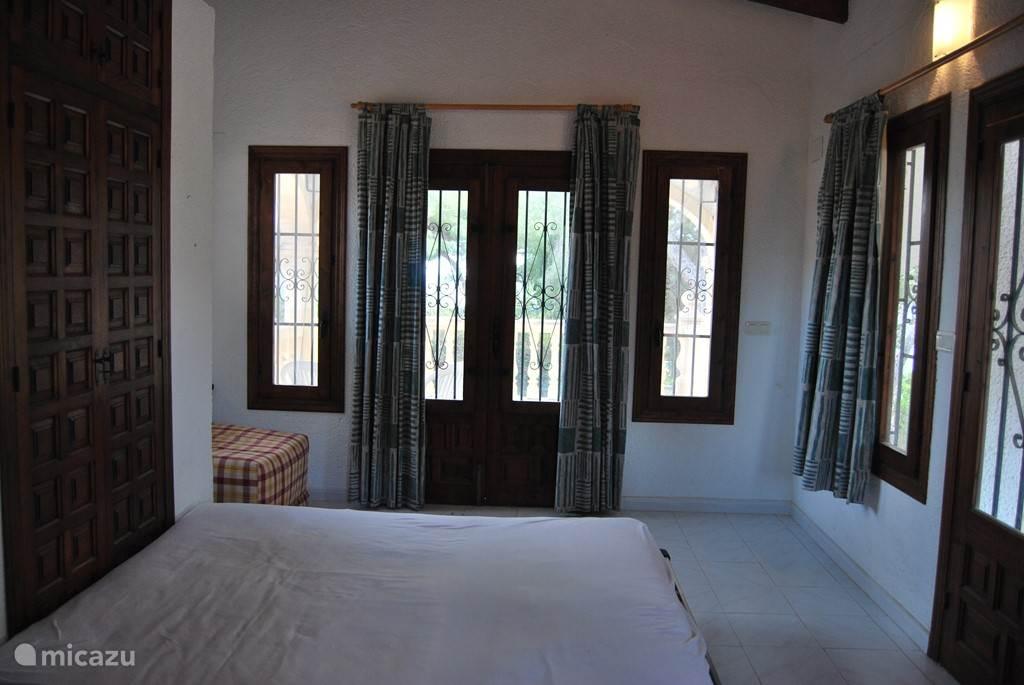 La Driada, slaapkamer boven