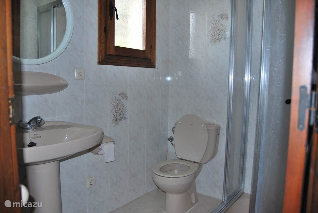 La Driada, badkamer boven