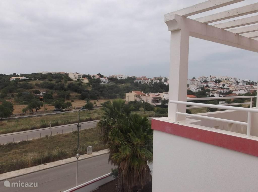 Uitzicht vanuit de slaapkamer richting Ferragudo
