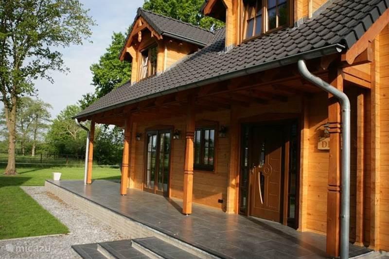 Vakantiehuis Nederland, Overijssel, Den Ham Vakantiehuis Houten villa Albert