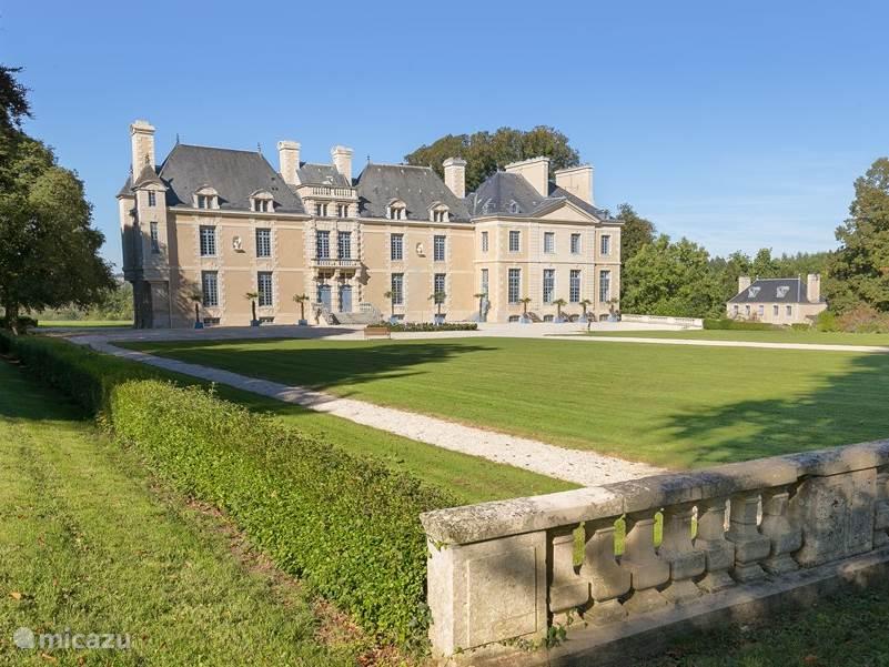 Vakantiehuis Frankrijk, Normandië, Villers-Bocage landhuis / kasteel Chateau de Villers-Bocage
