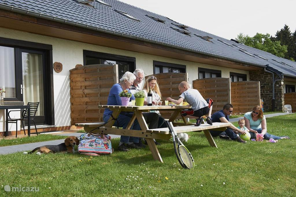 Vacation rental Luxemburg, Oesling, Hosingen bungalow Holiday park La Sapiniere