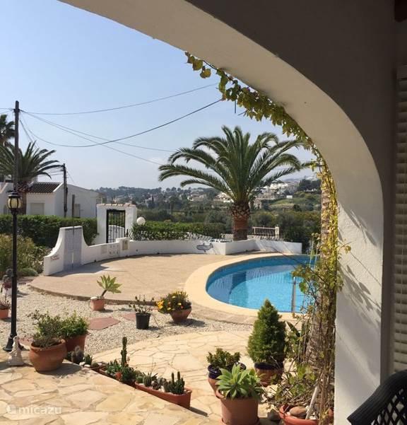 Zwemmen, Spanje, Costa Blanca, Moraira, bungalow Casa Inky