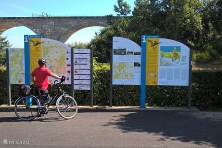 Vennbahn and RAVeL cycling routes