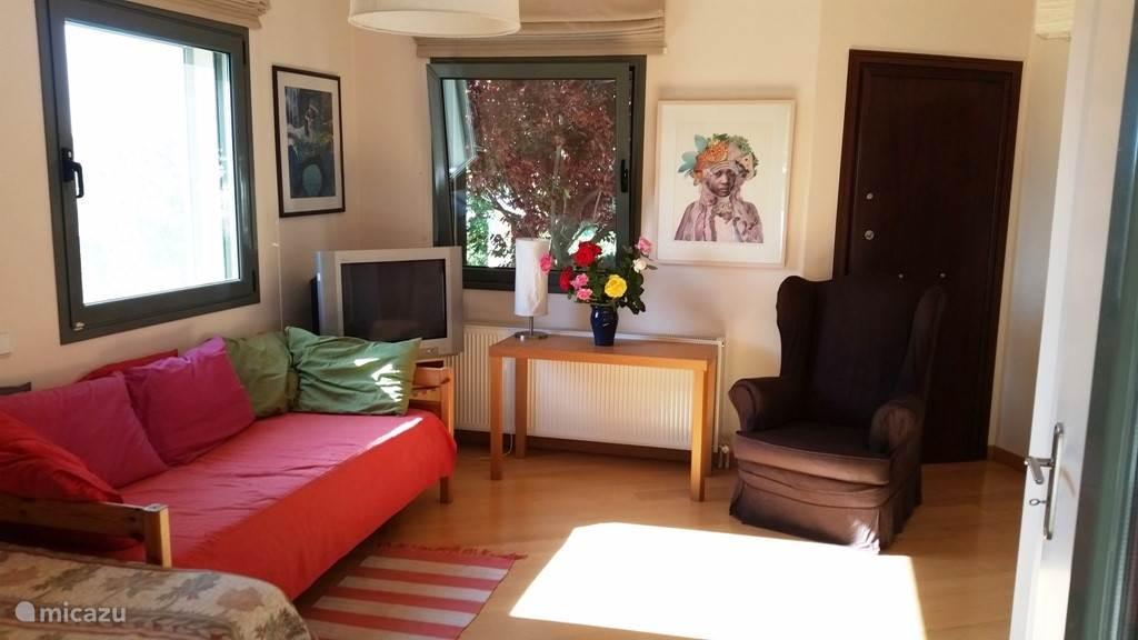 Het appartement.
