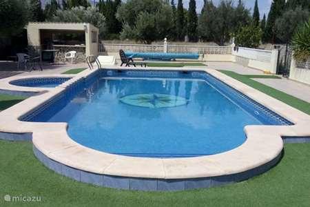 Vakantiehuis Spanje, Costa Blanca, Crevillente finca Finca Lucky studio