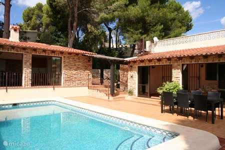 Vacation rental Spain, Costa Blanca, Moraira villa Casa Sabrosa