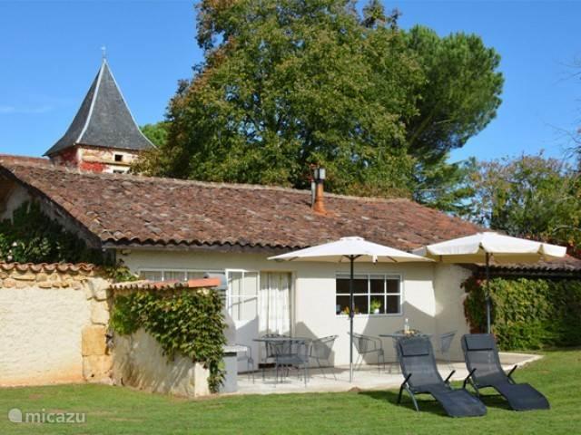 Vakantiehuis Frankrijk, Lot, Prayssac Appartement 2p. ap. bij Sprookjesachtig Kasteel