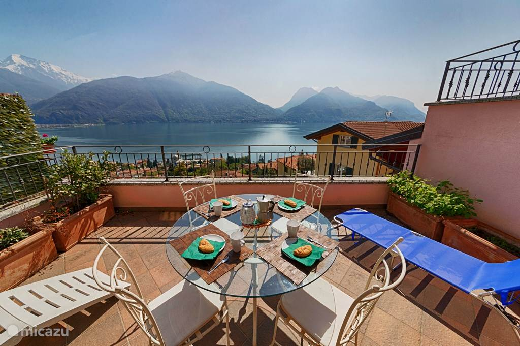 Vacation rental Italy, Lake Como, San Siro apartment Mastena Panoramica